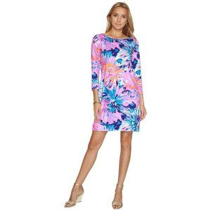 Lilly Pulitzer MARLOWE Multi Off T-shirt Dress XXS